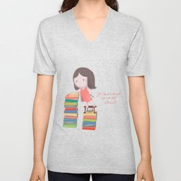 lets read  Unisex V-Neck