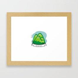 Un Cerrero Framed Art Print