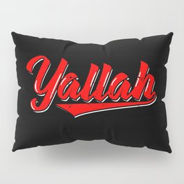 Yallah Art Work   Arabic Habibis Arabia Gifts Pillow Sham