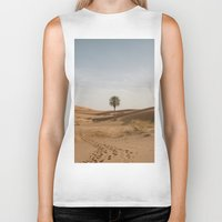 desert Biker Tanks featuring Desert  by Gerard Puigmal