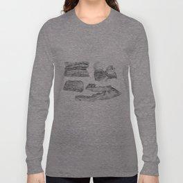 Denim Long Sleeve T-shirt