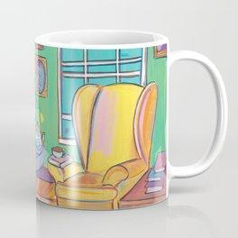 Yellow Wingback Coffee Mug
