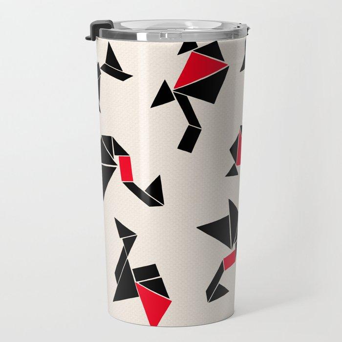 Tangram Animals Travel Mug