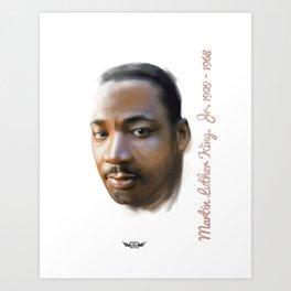 Martin  Luther King Art Print