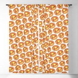 Pancakes Pattern Blackout Curtain