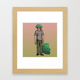 The Num Nums - Sticks Framed Art Print