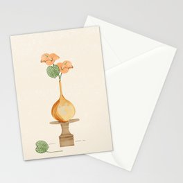 Anthurium flowers  Stationery Cards