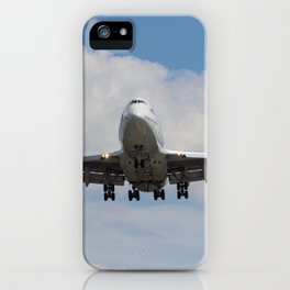 Virgin Atlantic Boeing 747 iPhone Case