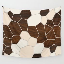 Geode in Cream Wall Tapestry