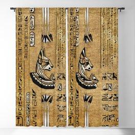 Bastet - Egyptian Goddess Blackout Curtain