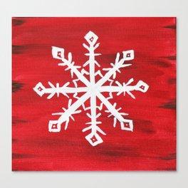 Giant Snowflake Canvas Print