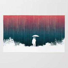 Meteoric rainfall Rug