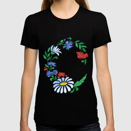 Frame from flowers T-shirt