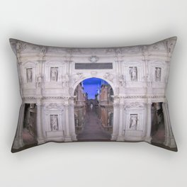Teatro Olimpico Rectangular Pillow