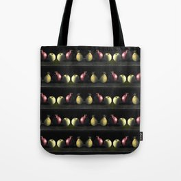 Holiday Fruit Stripes Photographic Pattern #1 Tote Bag