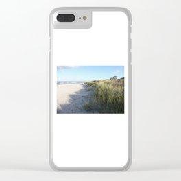 Dünen Clear iPhone Case