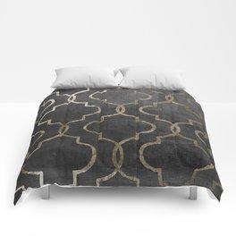 Paris Apartment Black Comforters