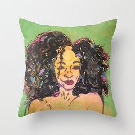 I am Black Girl Magic 2 Throw Pillow