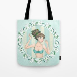 The Spring Collection: Merryweather Tote Bag