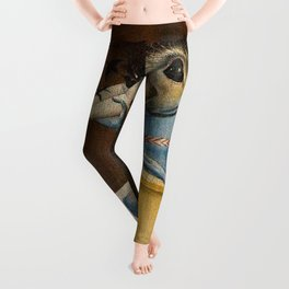 THE GARDEN OF EARTHLY DELIGHTS (detail) - HIERONYMUS BOSCH  Leggings
