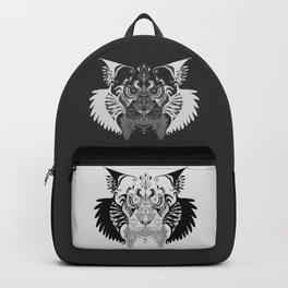 SamsungSketch_Lynx (Reverse) Backpack