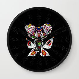 'One invader' Wall Clock