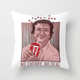 No Cherry , No deal Throw Pillow