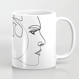 """Profile Collection"" - Woman Wearing Ear Muffs Coffee Mug"