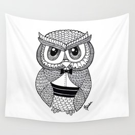 Richie the Owl Wall Tapestry