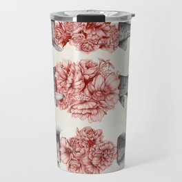 To Bloom Not Bleed  Travel Mug