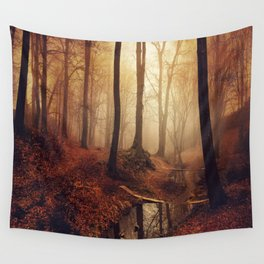 Forest Creek At Sunrise Wall Tapestry
