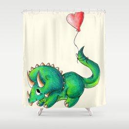 Balloon for Baby (Girl) Shower Curtain