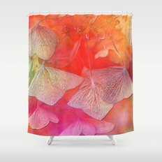 Withered hydrangea Shower Curtain