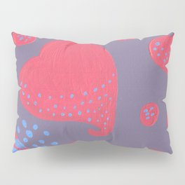 lollipop attacked by hearts Pillow Sham
