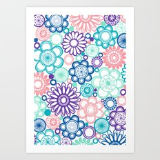 BOLD & BEAUTIFUL fresh Art Print