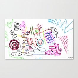 4D Go-Kart Canvas Print