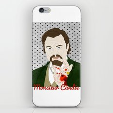 Monsieur Candie from Django Unchained iPhone & iPod Skin