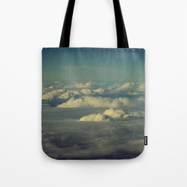 Clouds - HNL to GUM Tote Bag