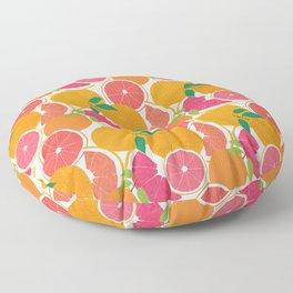 Grapefruit Harvest Floor Pillow