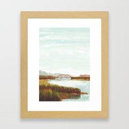 Riverbed Framed Art Print