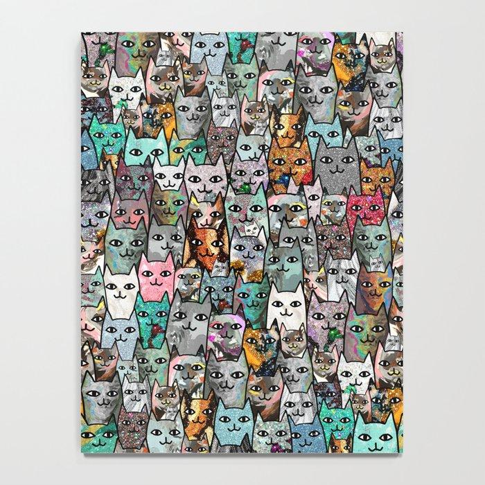 Gemstone Cats Notebook