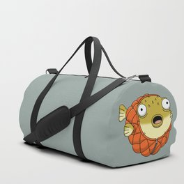Puffer fish Duffle Bag