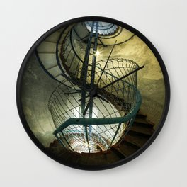 Inside the old lighthouse Wall Clock