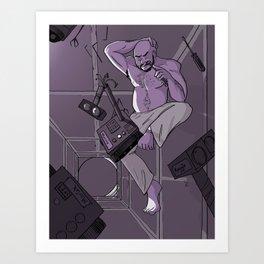 Morning on the Daedalus: Piotr Art Print