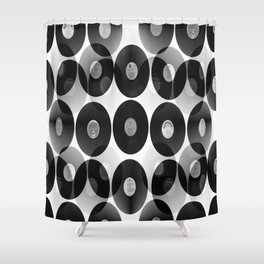 Something Nostalgic II - Black And White #decor #buyart #society6 Shower Curtain