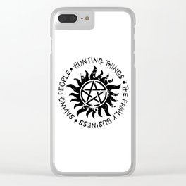 The Family Business Clear iPhone Case