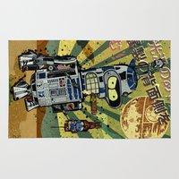 bender Area & Throw Rugs featuring BendR2D2 by Beery Method