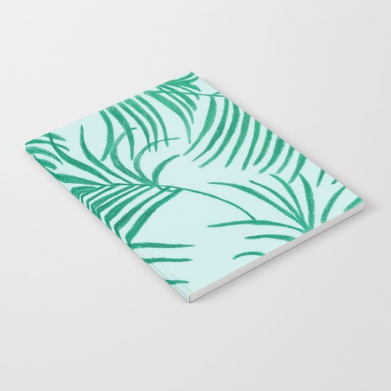 Green Leaves Of Home Notebook