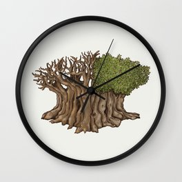 Legendary Tree Wall Clock