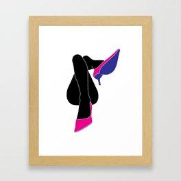 Leg-sy Framed Art Print